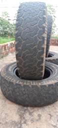 Vendo pneus 245x70x16 BFGodrich ALL Terraain