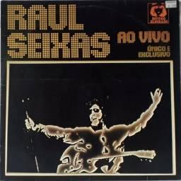 Lp Raul Seixas - Ao Vivo Único e Exclusivo