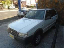 Fiat Uno 1.0 Branco - 2012
