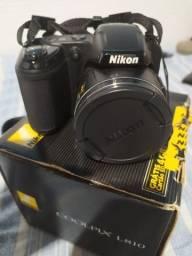 Câmera nikok coolpix l810