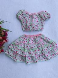 Vestidos e conjuntos infantis