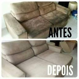 Oferta sofá limpo