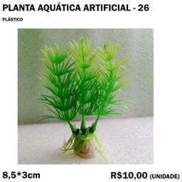 Planta Verde de Aquário Artificial - Modelo 26