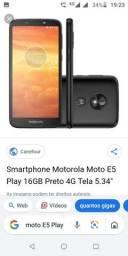 Vendo um Motorola moto E5 Play