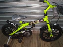 Bicicleta infantil aro 16 Incrível Hulk