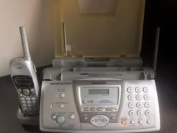Telefone sem Fio Fax e Copiadora Panasonic KX-FPG376