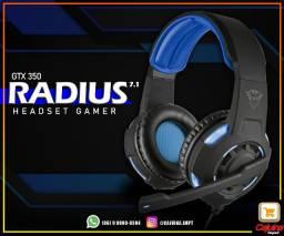 Headset Gamer Trust GXT 350 Radius 7.1 m17wd11sd20