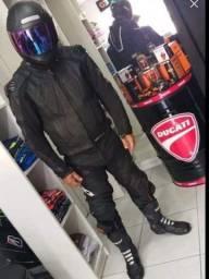 Macacão motociclista texx