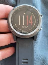Relógio Garmin fênix 3 usado