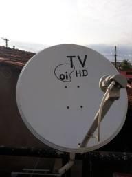Vendo antena de 75 cm banda Ku completa
