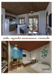 Praia do Coqueiro, 2 suítes, mobiliado, compra compartilhada