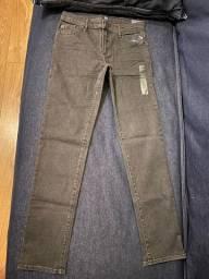 Calça Jeans GAP Preta 14 Anos Nova