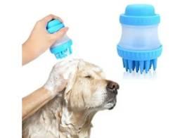Escova de banho para cães e gatos