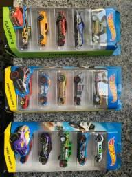 Título do anúncio: Conjunto 5 carros Hot Wheels ORIGINAL (preço unitário por conj)