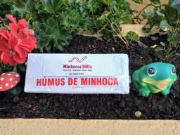 01 kg de Húmus novo com minhocas - Novidade no mercado