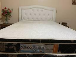 Vendo cama com colchão terapêutico