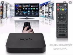 Tv Box MXQ4 em 3 x de R$ 77,80