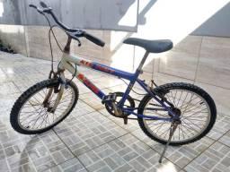 Bicicleta infantil e juvenil