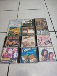 Coleção CD sertanejo.