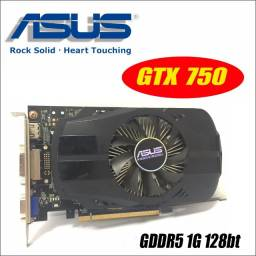 Placa de Video GTX 750 1 GB