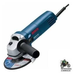Esmerilhadeira Angular Bosch Professional GWS 6-115 azul 220V