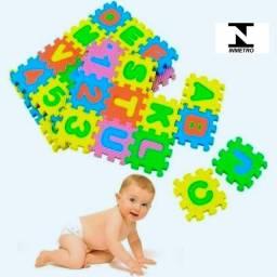 Tapete eva para Bebê 36 peças