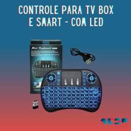 Mini Teclado Sem Fio Com Led para Xbox360 tv box tv smart PROMOÇÃO IMPERDIVEL