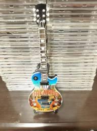 Mini Guitarra Hard Rock Café Gibson Les Paul Orlando Eua