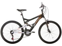 Título do anúncio: Bicicleta Aro 26 com Suspensão Dianteira e 21 Marchas << BAIXOU<<