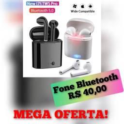 Fone bluetooth I7S TWS - O melhor da categoria