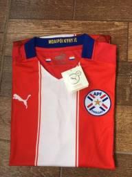 Camisa seleção Paraguay
