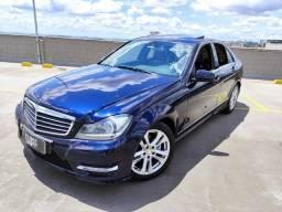 Mercedes c 200 azul