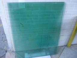 Vidro temperado verde