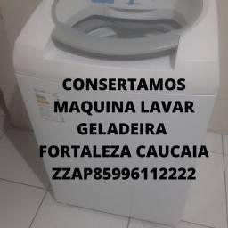 Título do anúncio: Conserto Maquina Lavar Geladeira Serviço Domicilio zap *22