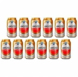 Pack 12 un. Amstel lata 350ml