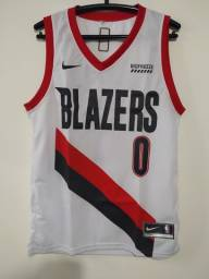 Regata NBA Blazers Branca