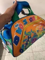 Linda bolsa jworld para crianças  unissex