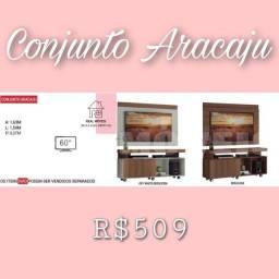 Painel + rack conjunto Aracaju