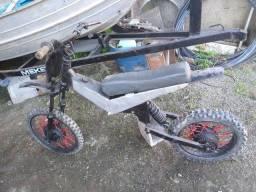 Quadro moto de trilha