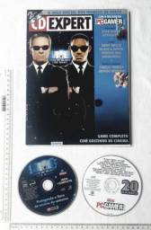 Raro Anos 90 - CD Jogo Revista CD Expert Nº 27 - PC Gamer - Com CD Jogo MIB Men In Black