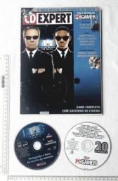 Raro Anos 90 - CD Jogo Revista CD Expert Nº 27 - PC Gamer - Com CD Jogo MIB Men In Black