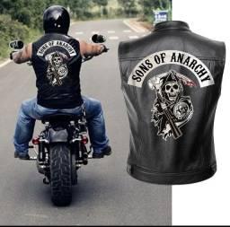 Colete motociclista Filhos da Anarquia