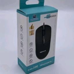 Mouse Com Fio USB Marca Renux  Para PC e Notebook