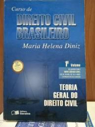 LIVRO: CURSO DE DIREITO CIVIL BRASILEIRO 1º VOL. (Leia)
