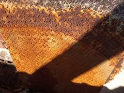 Chapa de ferro antiderrapante