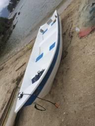 Título do anúncio: Barco de fibra registrado para pesca .  Ótima oportunidade .