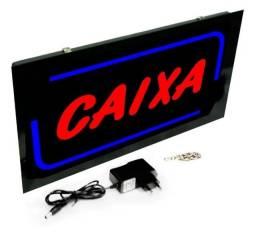 """Título do anúncio: Placa Led """"Caixa"""" Neon Bivolt110V/220V"""