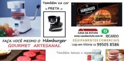 Modeladora de Hamburguer Semi Automática - Máquina para hamburguer