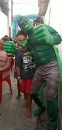 Hulk, Recreador, palhaço, animação de festa