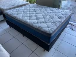 cama box queen size - LINDA- ENTREGO